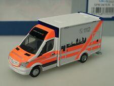 Rietze Mercedes Wietmarscher Ambulanz DRK Leipzig, RTW - 72020 - 1:87