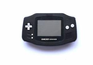 Nintendo Black (GBA) [Game Boy Advance] AGB 001 Handheld Original Console System
