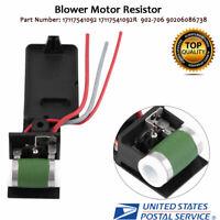 Engine Cooling Blower Fan Motor Resistor for Mini Cooper 902-706 90206086738