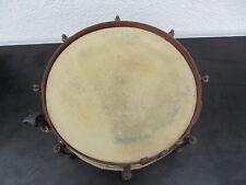 Alte Trommel Marschtrommel Braun