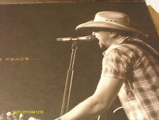 Jason Aldean CMA Voter Request & Photo Tour Book 2013 W/ Metal Strip