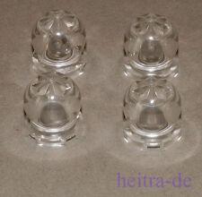 LEGO - 4 x Kristallkugel, Kugel 2x2x2 transparent - klar / 30106 NEUWARE