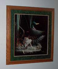 TOMMY HUMPHREY DUCKS UNLIMITED COMING OFF FRAMD SIGNED LTD EDITION PRINT 485/500