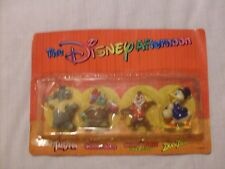 1991 THE DISNEY AFTERNOON FIGURES SET OF 4 KELLOGG'S TOY