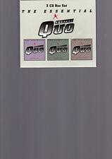 Status Quo  The Essential    3-CD-Box noch verschweisst