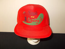 VTG-1980s Golfing Golfer Single And Loving It Bachelor funny joke hat sku28
