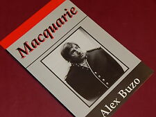 MACQUARIE - A Play by Alex Buzo   NEW