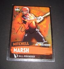 Mitchell Marsh (Australia) signed Perth Scorchers BBL Cricket Card + COA