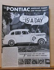 1937 magazine ad for Pontiac - Silver Streak Pontiac, Nothing Left to Ask For!