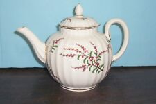"""ROYAL WORCESTER DUNROBIN TEAPOT 2.5 CUPS 6.5"""" NEVER USED FREE U S  SHIPPING"""