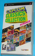 Capcom Classics Collection Remixed - Sony PSP - PAL
