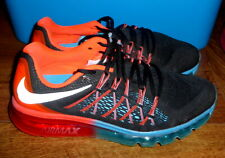 Nike Flyknit Air Max Mens Running Shoes Dark BlueBlue LagoonBright Crimson 620469 418 New Style