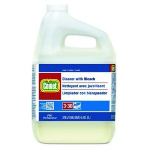 COMET CLEANER  PROFESSIONAL  WITH BLEACH 1 GALLON 3.78 L