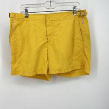 Orlebar Brown Mens size 34 OB Classic Springer Swim Shorts Yellow Style Setter