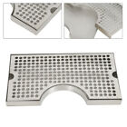 """Surface Mount Drip Tray Stainless No Drain for Draft Beer Kegerator 12"""" x 7"""""""