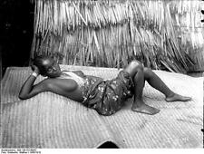 German East Africa Burundi Rwanda Tanzania Swahili Girl 1906 5x4 Inch Photo