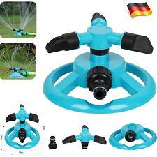 Garten Sprinkler Automatische Rasen Wasser Sprinkler 360 Grad 3 Arm Rotierende