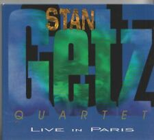 STAN GETZ QUARTET CD   LIVE IN PARIS