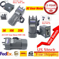 New Listingac Gear Motor Electric Variable Speed Controller 151020k 0 27013567 Rpm