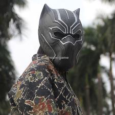 US SHIP! Marvel BLACK PANTHER Captain America Civil War Cosplay Prop Mask Helmet