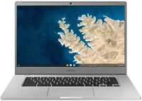 """SAMSUNG CHROMEBOOK 15.6"""" FHD N4000 4 32GB SSD SILVER XE350XBA-K01US"""
