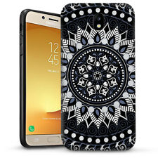 Black AZTEC TRIBAL Dual Layer heavy duty Case Cover For Samsung Galaxy Note 8