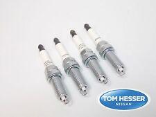 Genuine NISSAN CUBE SPARK PLUG Set of 4 B2401-JA01JNW Value Advantage MR18DE