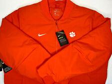 $200 NWT 2XL MEN Nike SHIELD Clemson Tigers Full Zip Orange Jacket Puffer Bomber