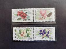 1999 - Romania - Flowers,   Mi. 5389 - 5392  MNH