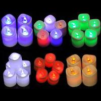 20 Teelichter LED Kerzen Flammenlos ohne Batterie 3.5cm x4.2cm M3343