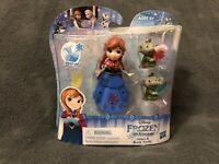 NEW Disney Frozen Little Kingdom Princess Anna & Troll Dolls Snap-Ins Hasbro 4+
