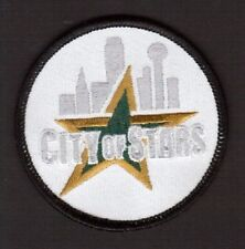 Dallas Stars City of Stars Embroidered Hockey Iron On Cloth Crest Patch