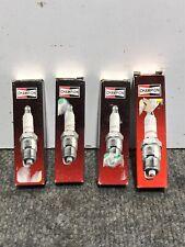 New Lot of 4 Spark Plug Champion Spark Plug RJ12YC 14, Fits Vehicles on Chart