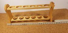 Provetta Vetro per 6 Fialette Reagenzglas-Halter Laborstaender Nuovo