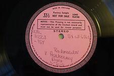 Rachmaninov The Four Piano Concertos - Decca SXLF6565 - Factory Sample - EX