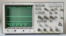 HP (Agilent) 83475A Lightwave Communications Analyzer and 500MHz Oscilloscope