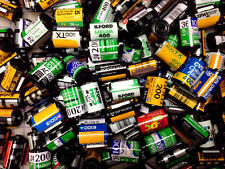 600 - 35mm film cassettes, Kodak, Fuji, & other brands. Empty- No film inside