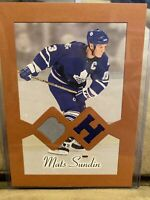Mats Sundin 2003-04 BEEHIVE #BH-11  5 X 7  2 COLOR JERSEY Toronto Maple Leafs