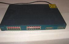 CISCO WS-C3524-PWR-XL-EN Switch w/ 24xFE PoE