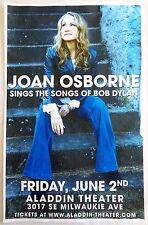 Joan Osborne 2017 Gig Poster Portland Oregon Concert