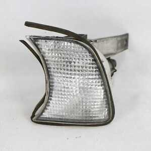 BMW E34 5-Serie Front Left Drivers Turn Signal Clear Corner Light Lamp 1989-1995
