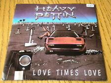 "HEAVY PETTIN - LOVE TIMES LOVE  7"" VINYL PS"
