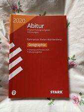 Abitur Buch Geographie Strak Verlag BW2020