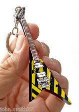 "Michael Sweet STRYPER Ultra V 4"" Miniature Guitar Fridge Magnet Keychain"