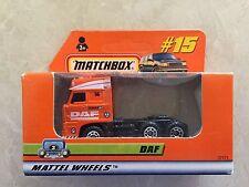 Matchbox - 1999 - Mattel Wheels - #15 - DAF - Rare (R)