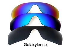 Galaxy Replacement Lenses for Oakley Batwolf Black&Blue&Green Polarized 3PAIRS