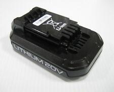 (1) New, OEM ALEMITE 343291 Rechargeable Battery, 20V, Li-ION HD