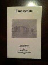 TRANSACTIONS OF THE SOUTH CAROLINA MASONIC RESEARCH SOCIETY VOLUME 7 1994 BOOK