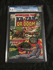 Marvel 1970 Astonishing Tales #1 CGC 9.6 NM+ Near Mint+ Dr Doom & Lee/Kirby Ka-Z
