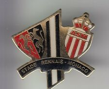 RARE PINS PIN'S .. FOOTBALL SOCCER CLUB MATCH STADE RENNES 35 - ASM MONACO ~C4